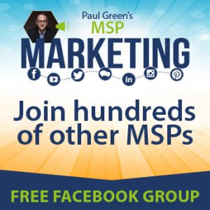 MSP marketing Facebook group