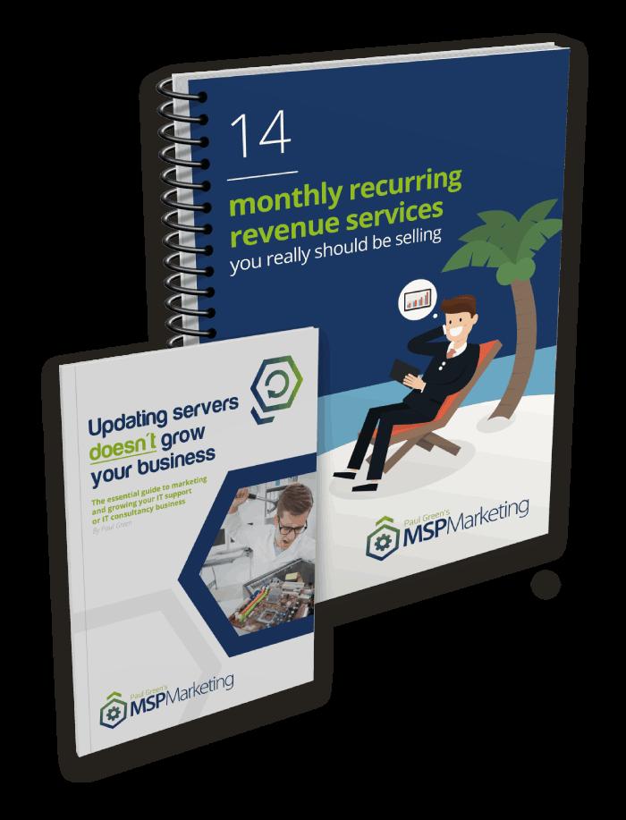 Free book on MSP marketing